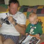 Reading Motorbike Magazines