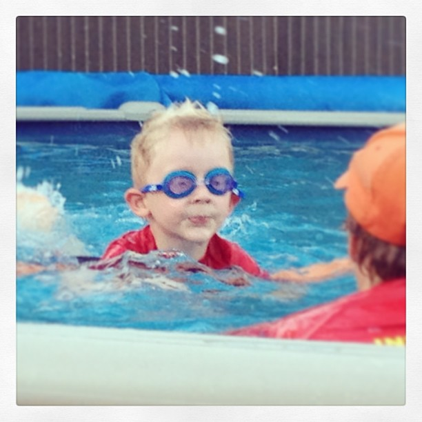 Swimming is a hit!!