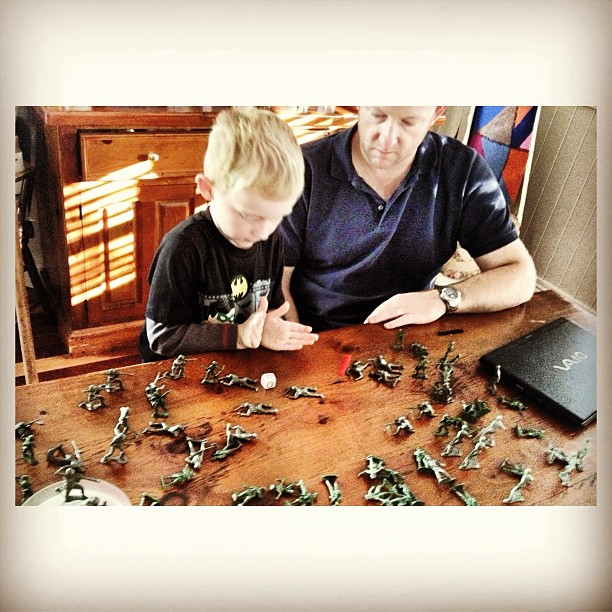 My Boys have been playing Army  Soldiers for over an hour! Boys only!!