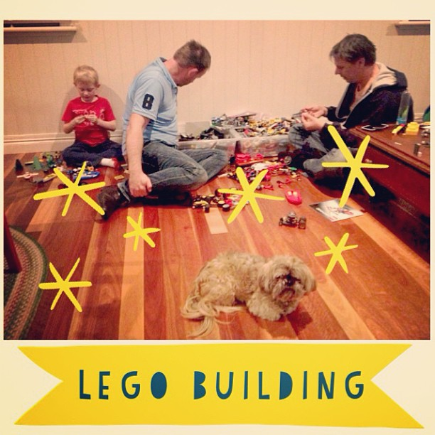 Some serious LEGO building!