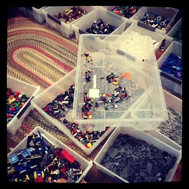 Lego central.....