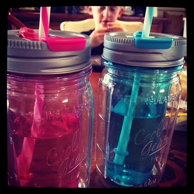 Child proof mason jars!
