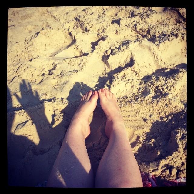 Hi! From the beach xx