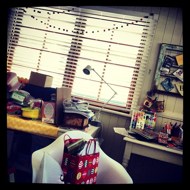 My sewing room after all the Christmas Craziness!! I am house keeper extraordinaire!!