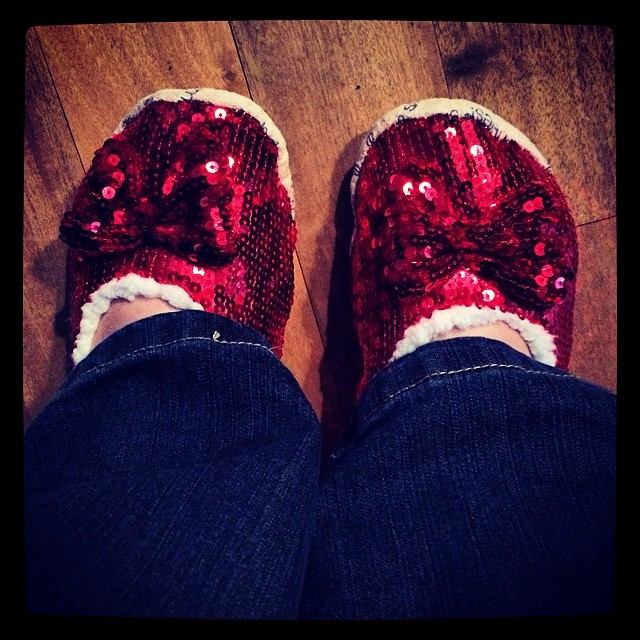 My new slippers!