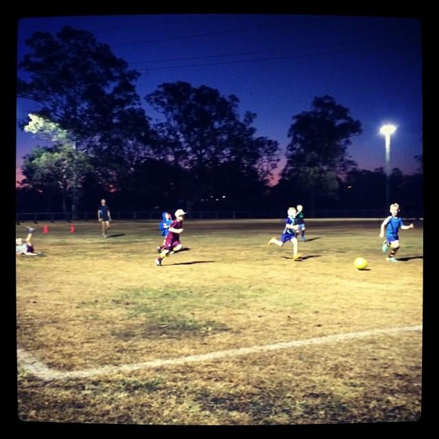 Soccer training brrrrr