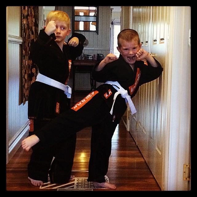 Jujitsu boys