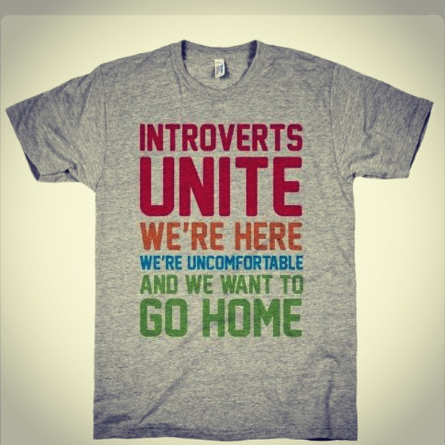 I am an introvert x