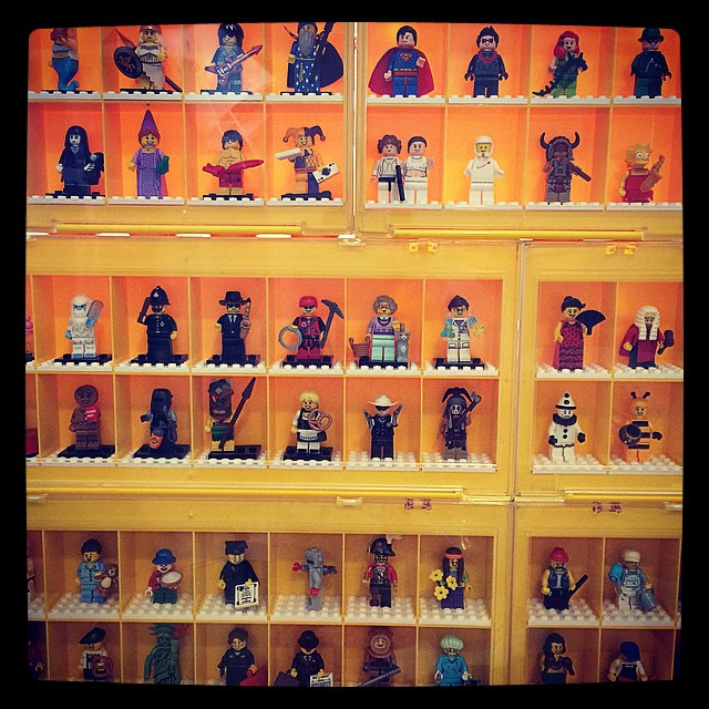 Mini figures are my fav.....