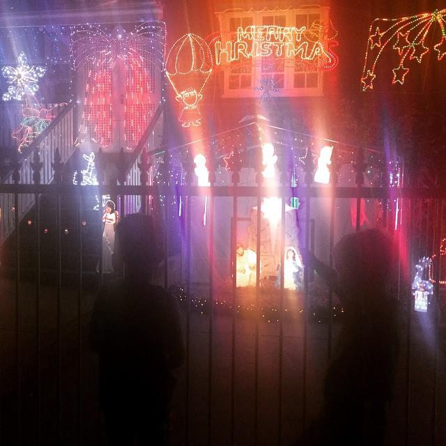 Christmas lights x