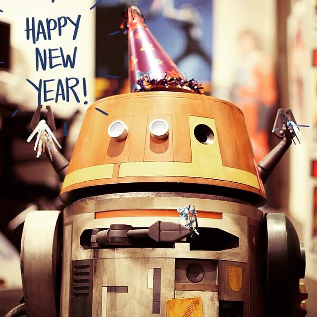 Happy New Year from our Nerdy Star Wars Family xx (photo from StarWars)