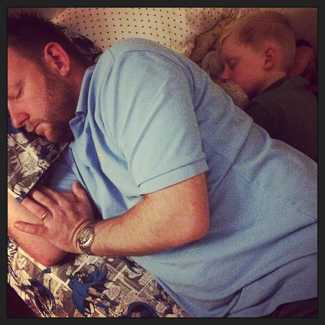 Love these two.......even when they snore xx