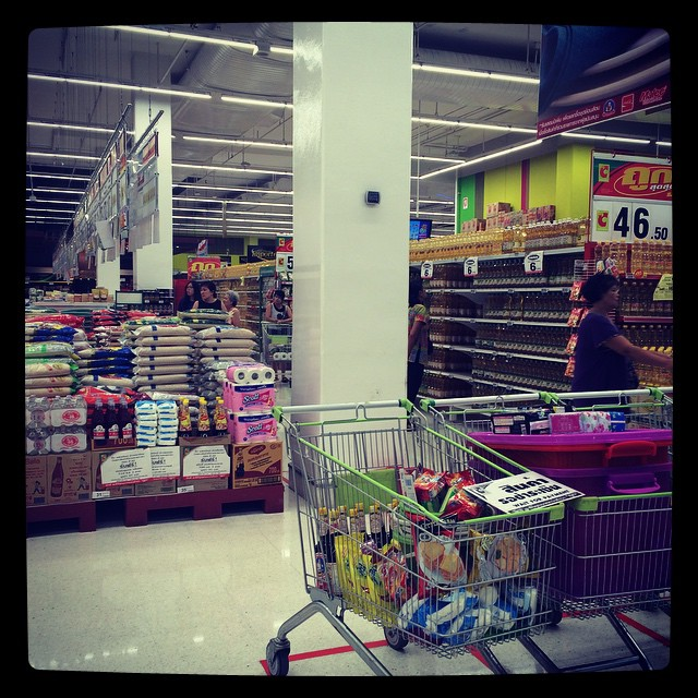 First Thai Supermarket. I need to make Thai friends or else we have to live on bottled water and choc chip biscuits