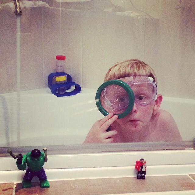 The new bath fashion......