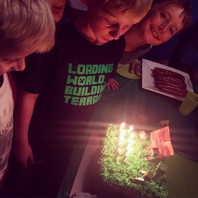 Ben's 8th birthday celebration