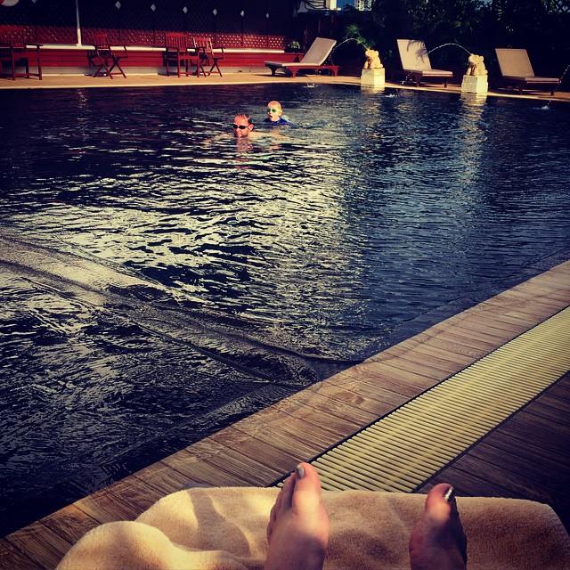 Afternoon swim x