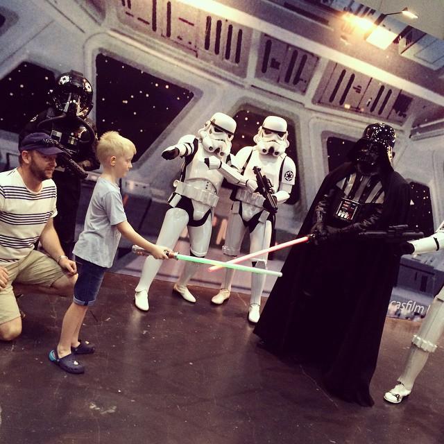 Comic Con Bangkok - Use the FORCE Ben!