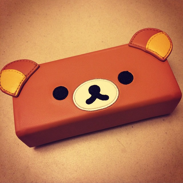 My new glasses case.
