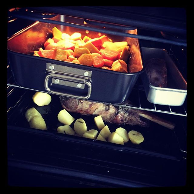 Roast for grandma's birthday.....YUM!!