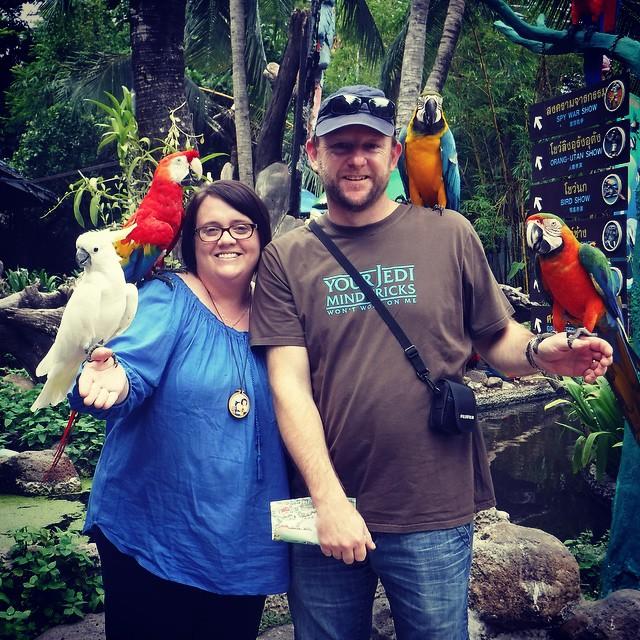 We went 'tourist' today. We met some locals.