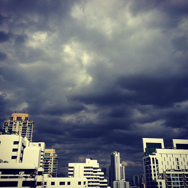 Bangkok - before the storm #myskyart