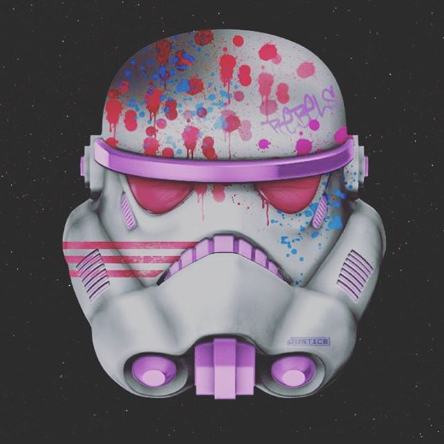 Design your own Star Wars Helmet......mine rocks!!