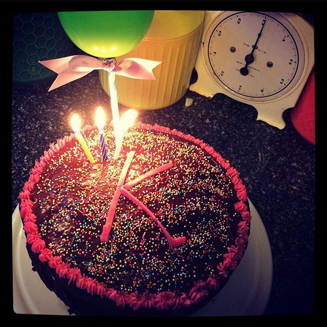 We made our beautiful Kanchi a 30th birthday cake. HAPPY BIRTHDAY KANCHI XXX