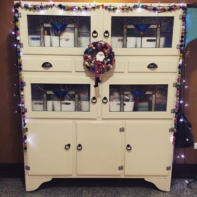 I love Christmas decorations.
