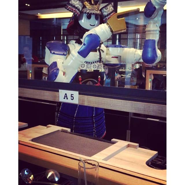 More robot dancing
