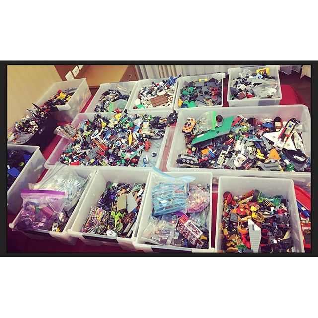 Let the LEGO sorting begin!