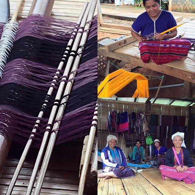 Hill Tribe Village weaving
