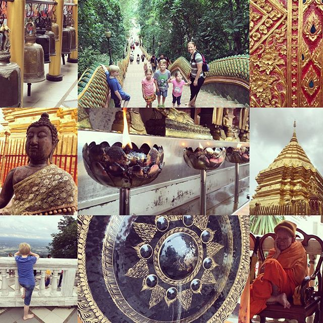 Temple - Chiang Mai with @lissmcbain