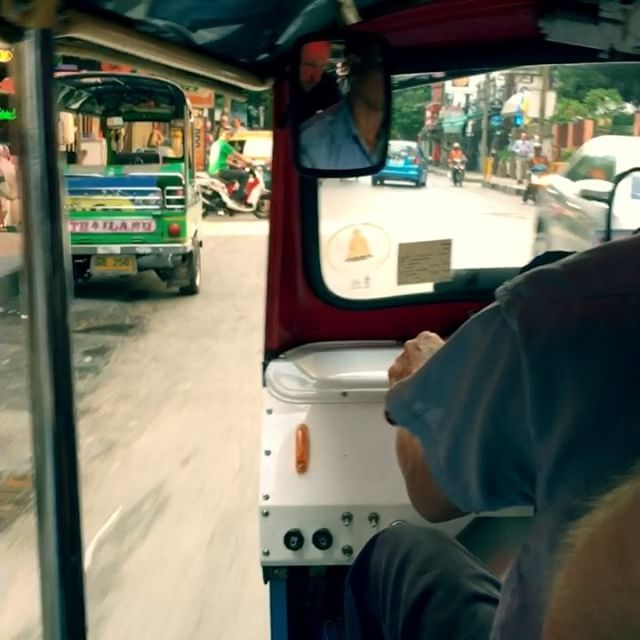 A lazy Sunday afternoon drive in a Tuk Tuk down our Soi (Street)