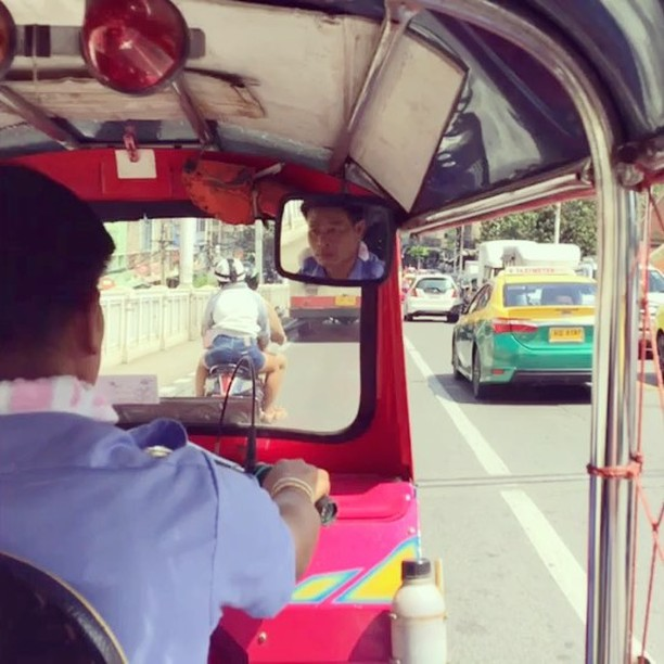 Just another Tuk Tuk ride.