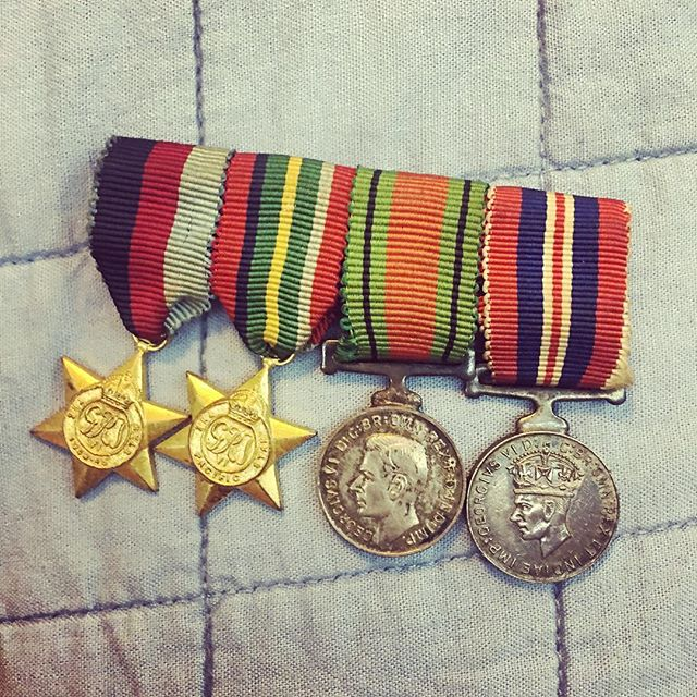 I just got my Pa's medals out to polish for Ben to wear. We are heading to Kanchanaburi on the weekend to attend the ANZAC Day Dawn Service at Hell Fire Pass in Thailand.