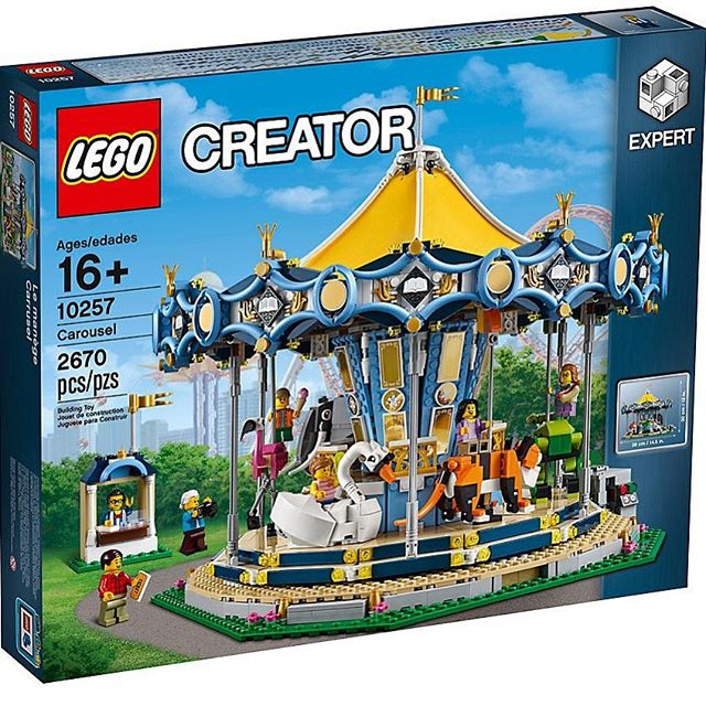 Ohhhhh!!! I was just telling myself that I did not need anymore LEGO and then this is released. It even spins.........its kind of nearly my birthday