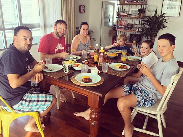 Family breakfast!!!