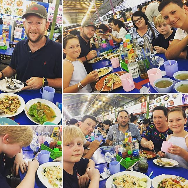 Dinner at a local market (not a tourist market) ️$16 AUD for food and drinks.