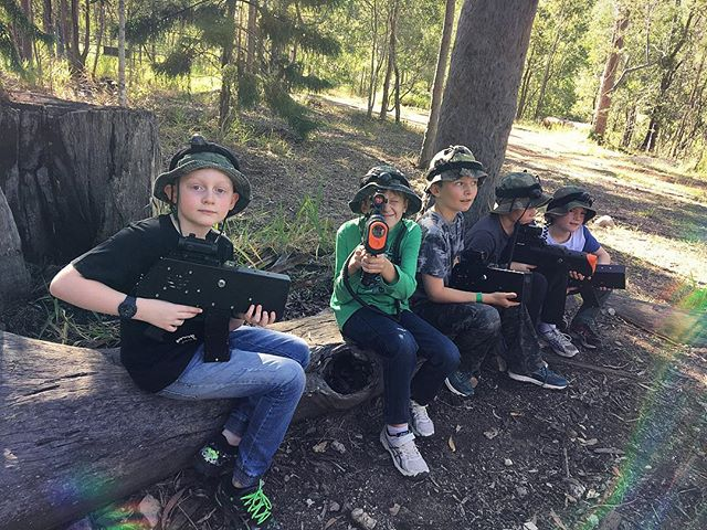 Laser Skirmish birthday with his best buddies in Australia. It took Ben a little bit to warm up to it after 2.5 years in a concrete jungle. But he absolutely loved running around in the bush with his friends. Thanks @clr0210 & @natucker99