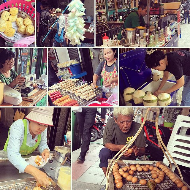 All of these vendors are in our Soi on the footpaths.  I sometimes forget to slow down and take notice of all this amazing xx