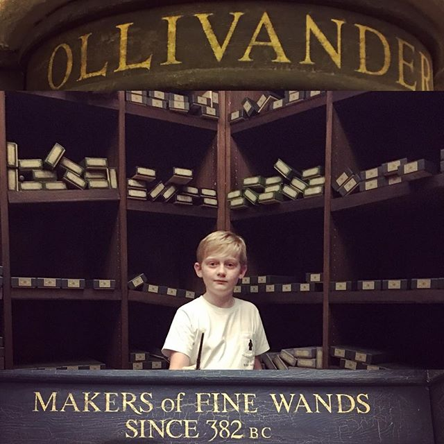 Wand Shopping