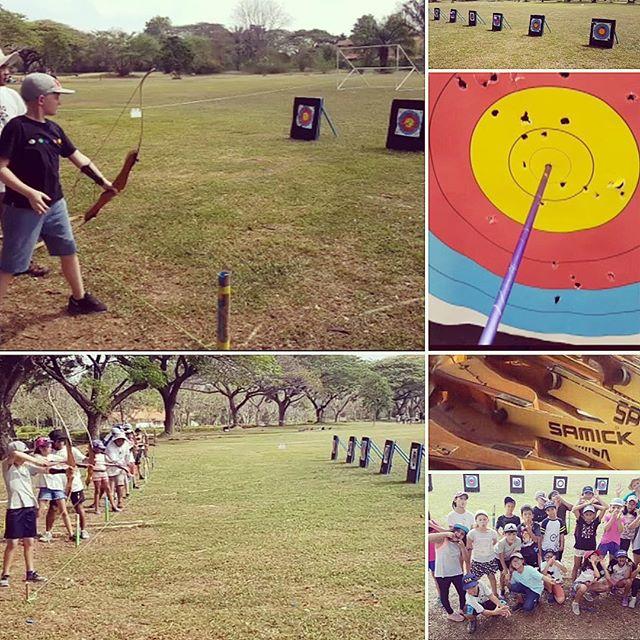 Archery at year 5 camp today. The teachers are fabulous sending photos! One sleep to go