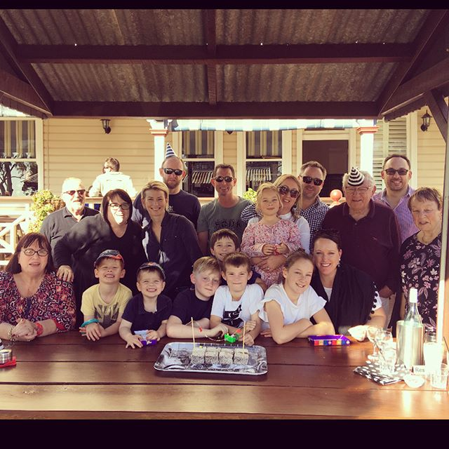 Happy Birthday Andrew! A fabulous day in the country with friends and family xxx