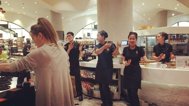 Love a bit of JT and staff dancing in the supermarket #onlyinthailand