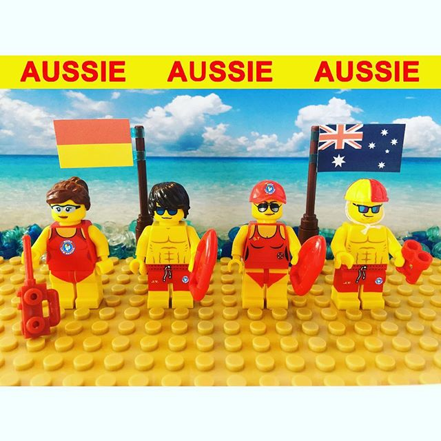Aussie LEGO Life Guards ️ #australianlifeguards