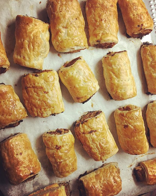 Keeping my boys happy....homemade sausage rolls (in bulk for the freezer)