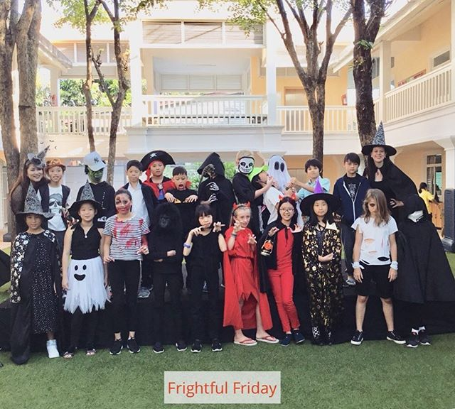 So much Halloween fun at Ben's school - Frightful Friday