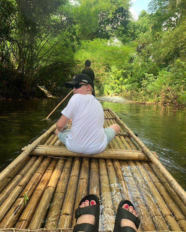 Bamboo rafting ️️️️️