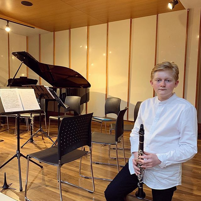 Ben had the most wonderful time performing. A very special thank you to all the members of the clarinet ensemble and especially his talented teacher Wan.