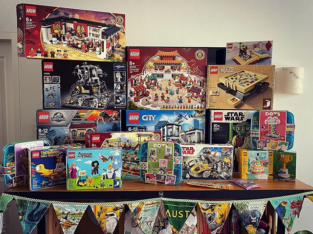Perfect time to start building some of this LEGO!  There may also be a secret LEGO Star Wars stash hidden for Ben's birthday in a few weeks.  When the world returns to normal you may find our apartment has turned into a LEGO fortress ️